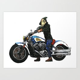 Horseman #4 Art Print