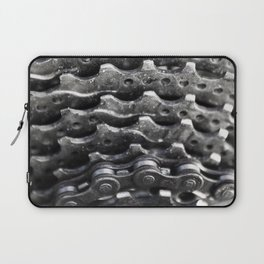 Rear mountain bike cassette Laptop Sleeve
