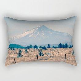 High Desert Haze Rectangular Pillow