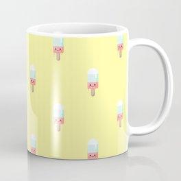 Kawaii melting popsicle pattern Coffee Mug