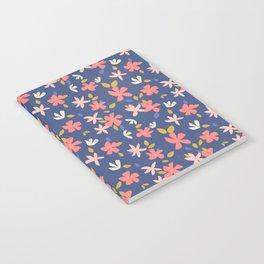 Dancing Florals Notebook