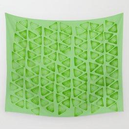 Irregular green Wall Tapestry