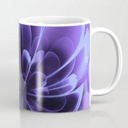 Abstract Blue Flower Coffee Mug
