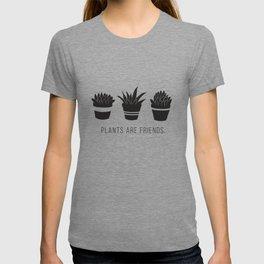 Plants are Friends - Houseplants Art T-shirt