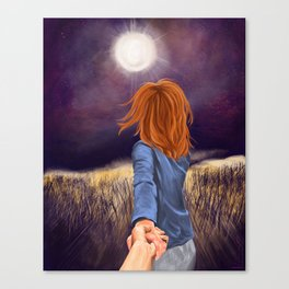 Follow Me Canvas Print