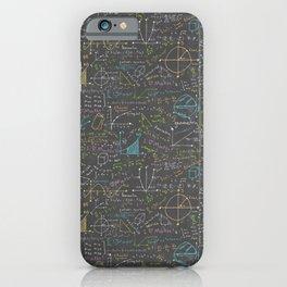 Math Lesson iPhone Case