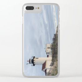 Eastern Point Lighthouse Clear iPhone Case