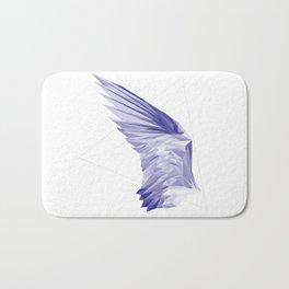 Crystal Wing by Fernanda Quilici Bath Mat