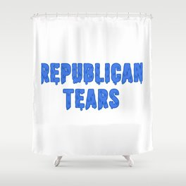 Republican Tears Shower Curtain