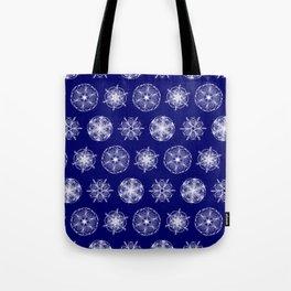 Snowflakes of Maps #01 Dubai (Palm Island) Tote Bag