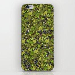 Blueberry Bushes iPhone Skin