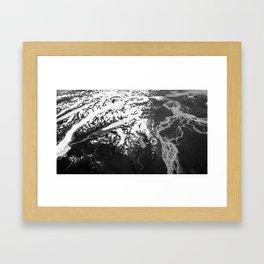 Glacial 1 Framed Art Print