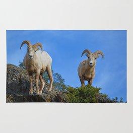 Rams in the Rockies Rug