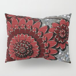 Red Glistens in Crystal  Pillow Sham