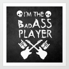 BadASS Player Art Print