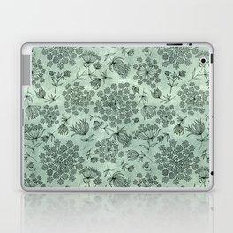 queen anne's lace pattern Laptop & iPad Skin