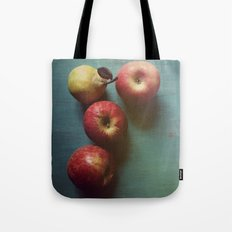 Autumn Apples Tote Bag