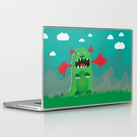 dragons Laptop & iPad Skins featuring Dragons! by SkippyZA
