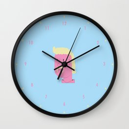 TEX MOSTACHE Wall Clock