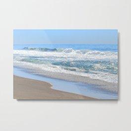 Baby Blue Ocean Metal Print