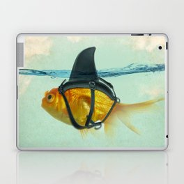 Brilliant Disguise Goldfish Laptop & iPad Skin