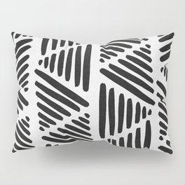 Black and White Abstract I Pillow Sham