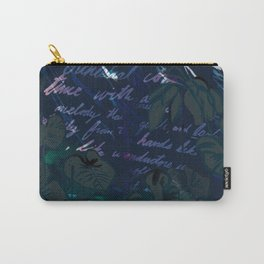 """""""Conquest of the Useless"""" by Werner Herzog Print (v. 11) Carry-All Pouch"""