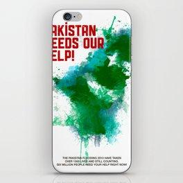 PK Flooding iPhone Skin