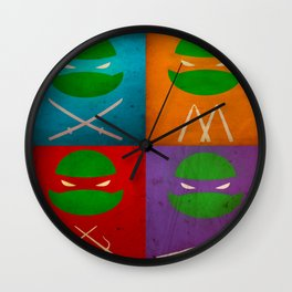 TMNT Collection Wall Clock