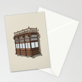 Colonial Balcony - Balcon colonial Stationery Cards