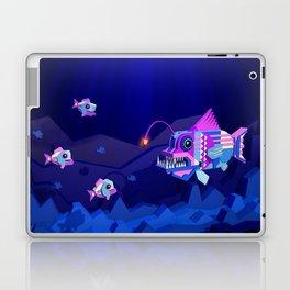 Anglerfish, lie and bioluminescence Laptop & iPad Skin