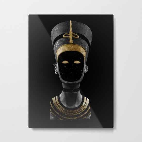 Nefertiti AD (revisited) Metal Print