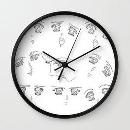 Sweet girls Wall Clock