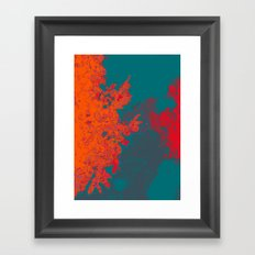 The Illusion of the Elemental  Framed Art Print