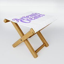 Artemis Creates Main Logo Folding Stool