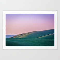 Morgan Territory Morning Art Print