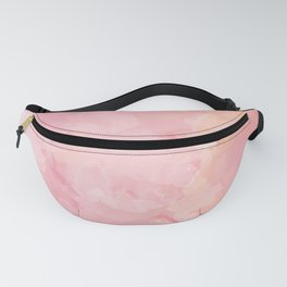 Rose Marble Watercolor #marble #watercolor #artwork #rose #blush #kirovair #homedecor #abstractart Fanny Pack