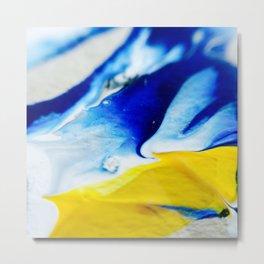 Painting Play (iii) Metal Print