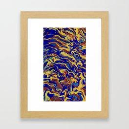 Abstract Alma Llanera Framed Art Print