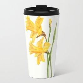 Early Daffodils Travel Mug