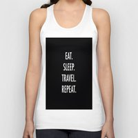 eat Tank Tops featuring Eat by I Love Decor