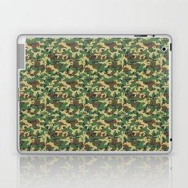 Military Camouflage Pattern - Brown Yellow Green Laptop & iPad Skin