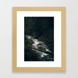 Latourell Creek Framed Art Print