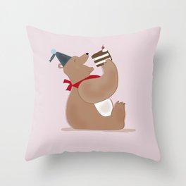Enjoy Life! Throw Pillow