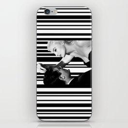 La Dolce Vita in Barcode iPhone Skin