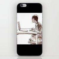 gamer iPhone & iPod Skins featuring Gamer by Jonas Ericson