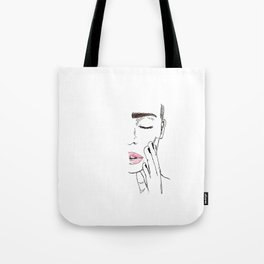 brow game too strong Tote Bag