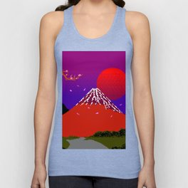 Dreams  on  Cherry  Blossom  Street Unisex Tank Top