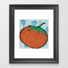 tomato. Framed Art Print
