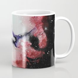 Red Nebula Coffee Mug